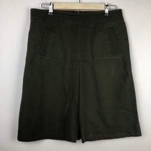 =J. CREW=CHINO A LINE MID LENGTH SKIRT 10